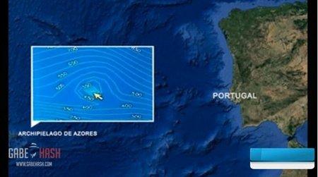 葡萄牙发现巨大海底金字塔:高60米宽8000米(图)